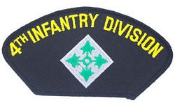 4th Infantry Division Patches
